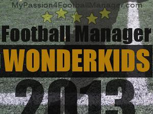 Football Manager 2013 Wonderkids shortlist