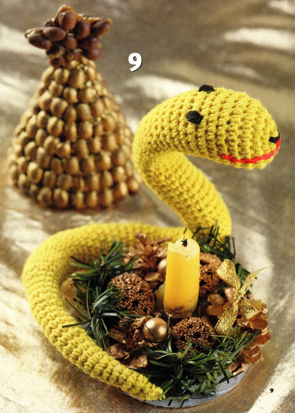 Год змеи сувениры на новый год своими руками
