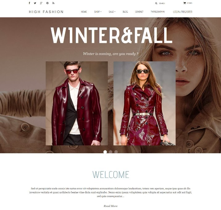 Parallax - High Fashion Responsive Shopify Theme