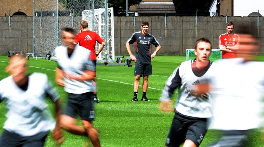 Liverpool prepares for Arsenal