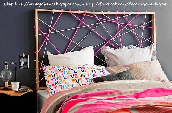 Ideas Decoracion Dormitorios Diy ~ Ideas DIY para Decorar tu Cuarto F?cil y Econ?mico  Decoraci?n del