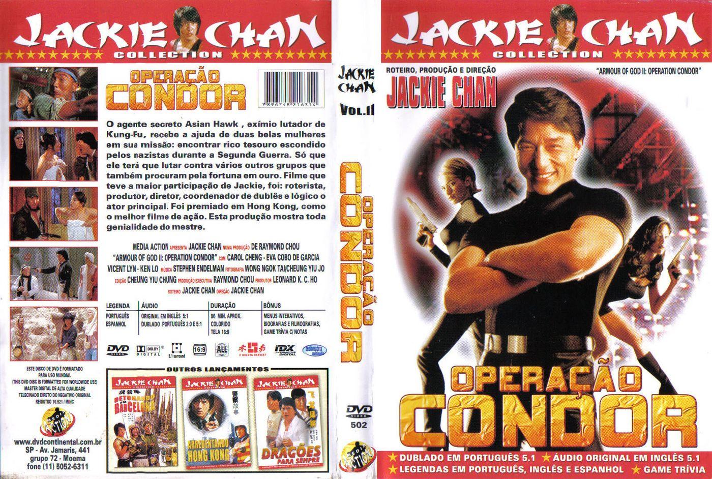 Armour of God II Operação Condor DVD Capa