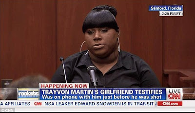 Rachel Jeantel Testifies at Trayvon Martin Trial