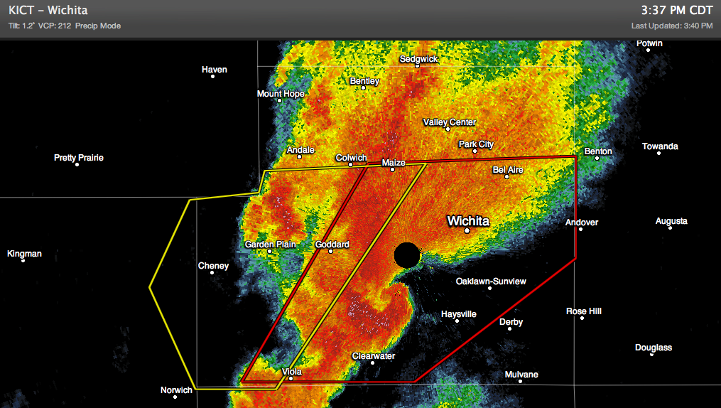 Wichita Kansas Tornado