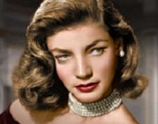 """Lauren Bacall, en """" Tener o no tener """""""