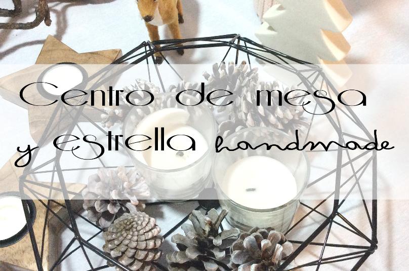 Centro de mesa y estrella handmade by Habitan2