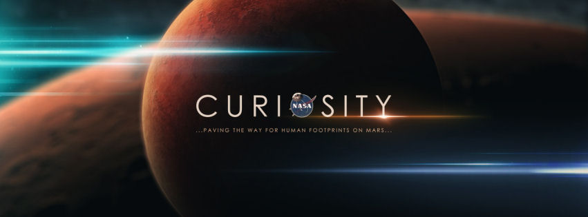 Nasa mars curiosity facebook cover