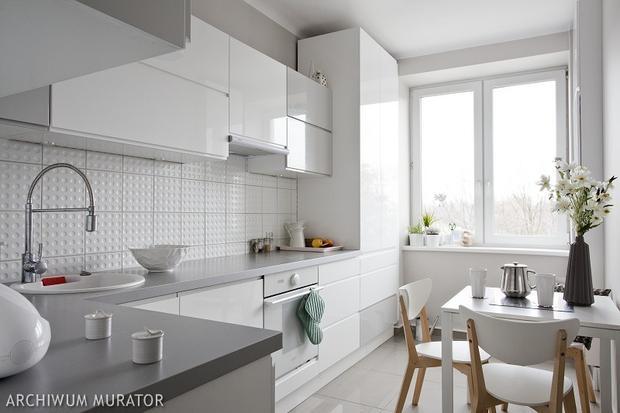 8 kuchni minimalistycznych  SPOD KANAPY -> Kuchnia Biala Lakierowana Czy Matowa