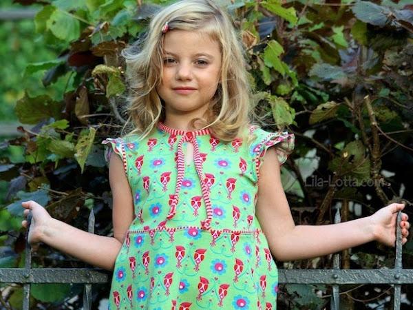 Da war doch noch was ... Genau das Kleid aus den Woodpecker Jerseys von Königreich der Stoffe ...