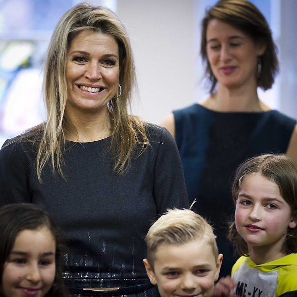 Queen Maxima Visited The Liduina School In The Hague