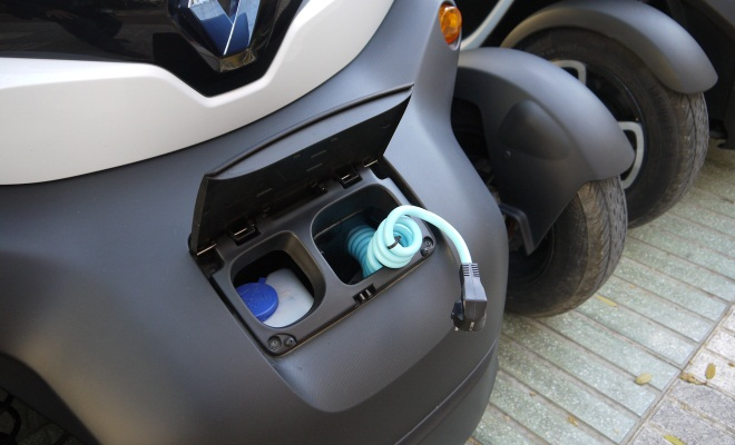 Twizy charging cable