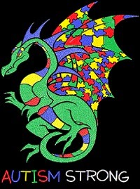 autism strong dragon