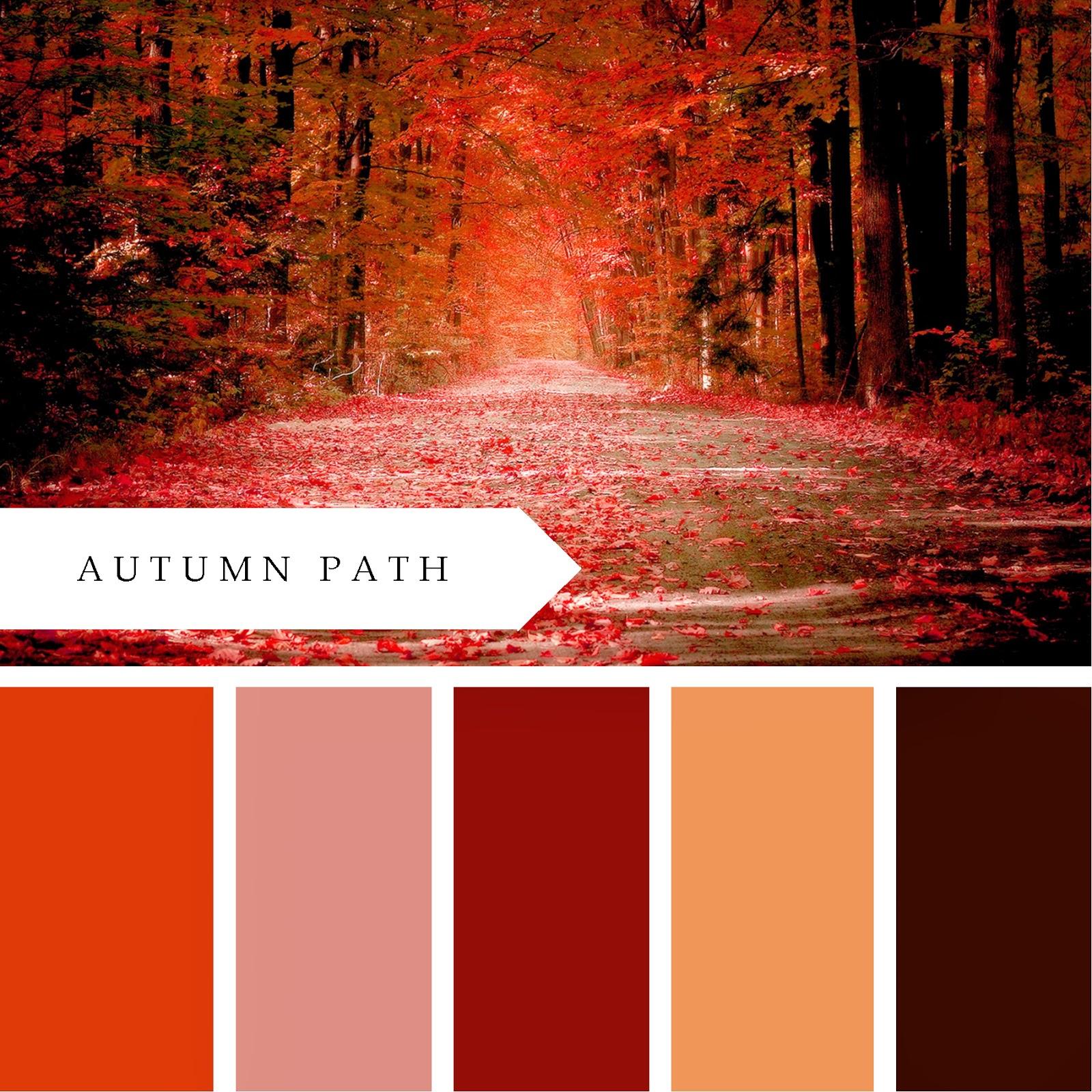 Fall Color Schemes Printablewisdom October 2013