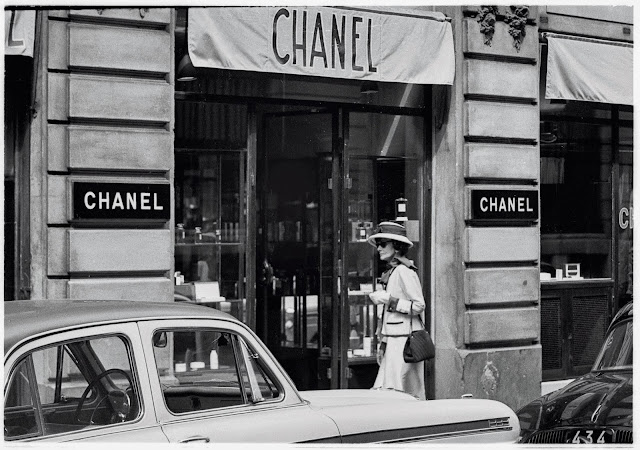 Chanel timeline thinglink for Chanel locations in paris