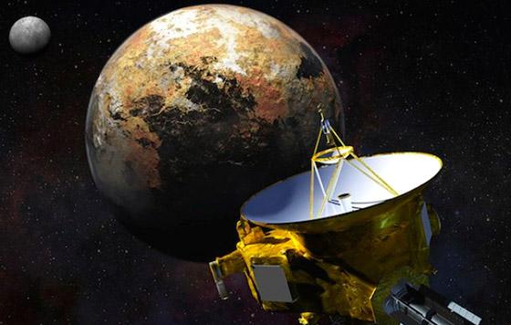 Resultado de imagen de New Horizons tiene como finalidad caracterizar la geología global y morfología de Plutón