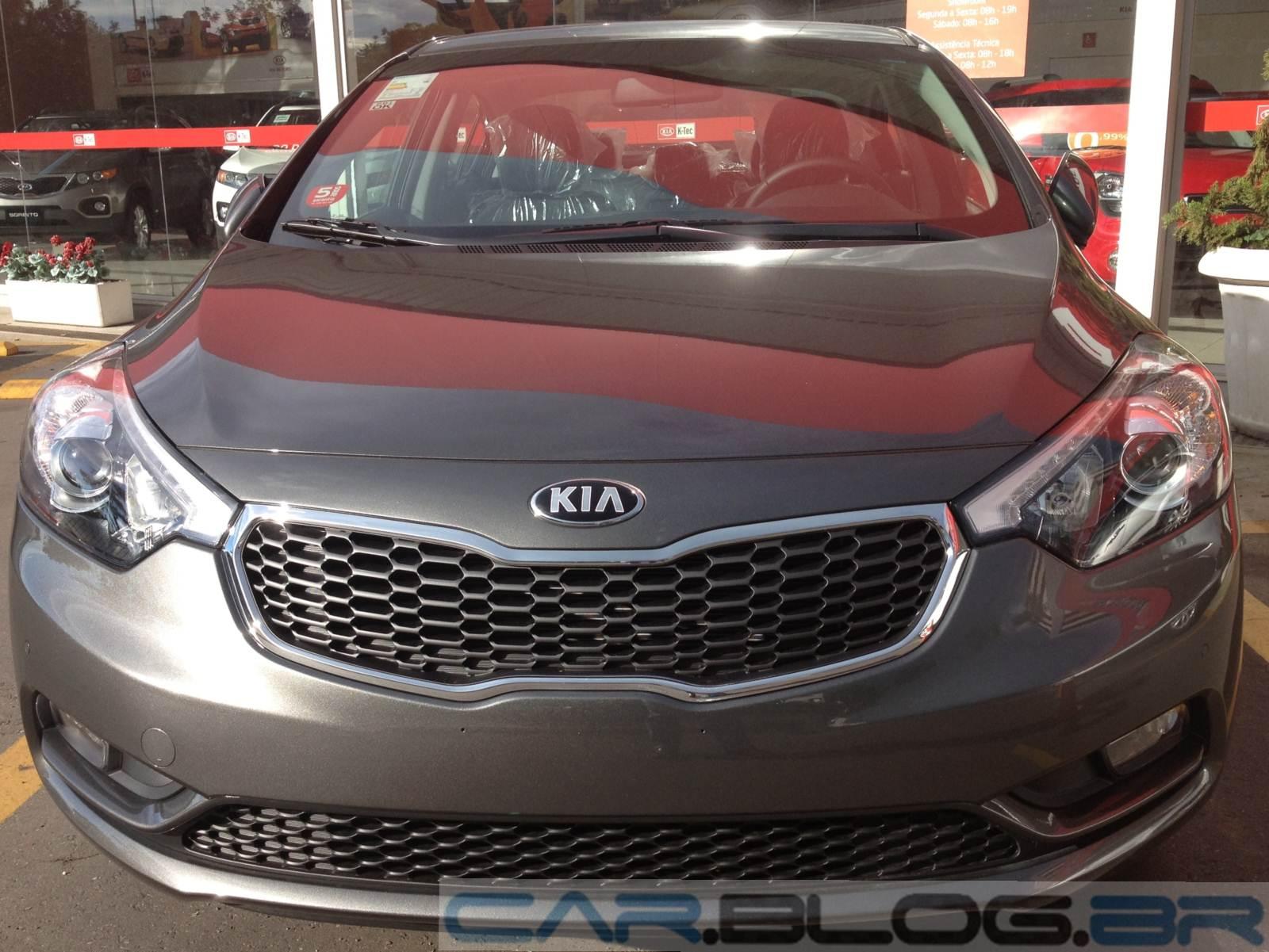 Kia do Brasil já apresentou o novo Cerato 2014 no Brasil - carro