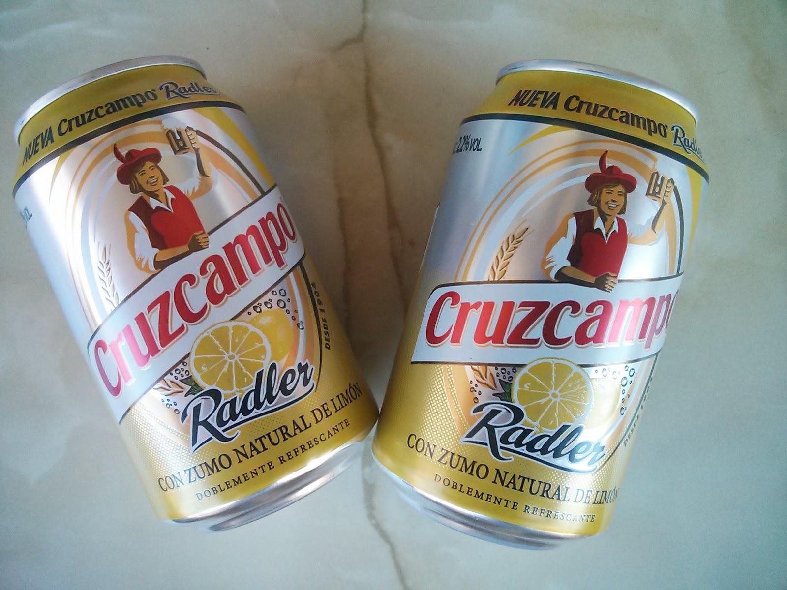 Cruzcampo Radler