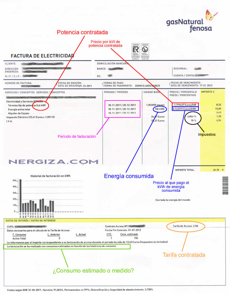 Bernardo mart nez martos tu asesor de energ a - Como ahorrar en la factura de la luz ...