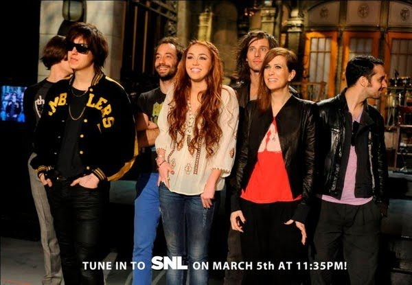 miley cyrus snl promo pics. SNL PROMO: Miley Cyrus and The