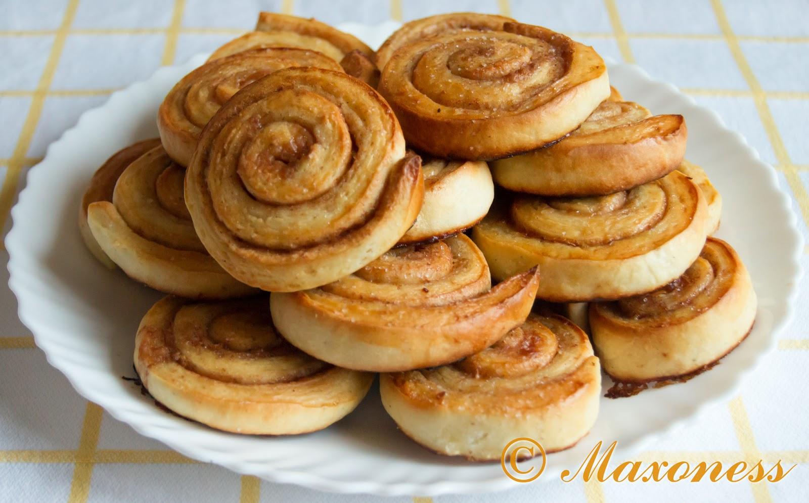 Канелбуллар (шведские булочки с корицей). Скандинавская кухня