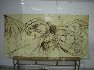 primer dibujo (Mural teatro)