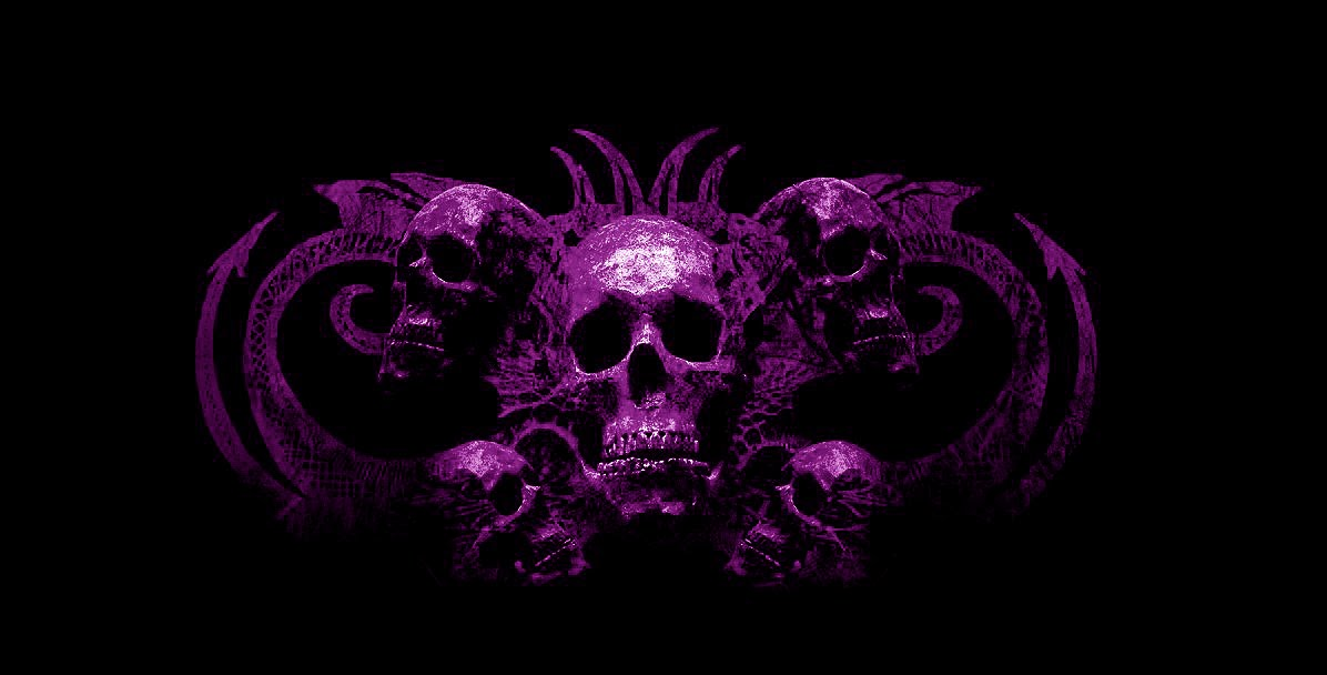 purple skull wallpapers | Scary Wallpapers
