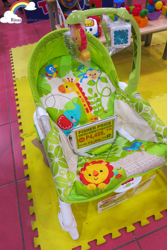 Rina's Rainbow: Fisher Price, Chicco, and More on SALE at Toys R Us Robinsons Mall!