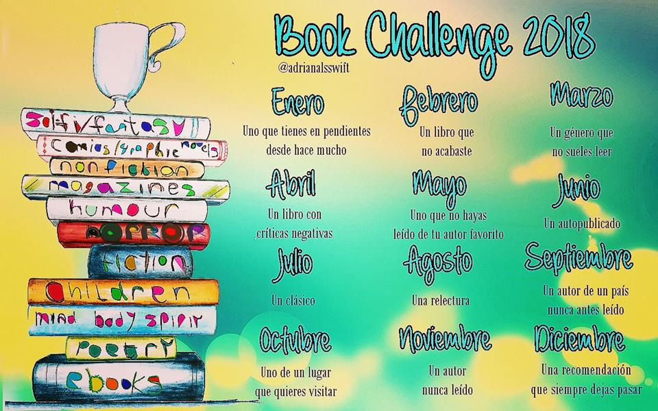 Book Challenge 2018