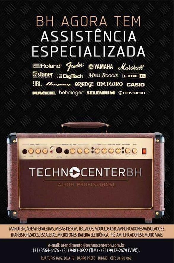 TECHNO CENTER BH - Assistência Técnica em Equipamentos Musicais