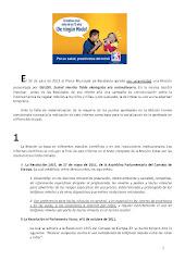 Txostena-Informe:UMEAK TA MUGIKORRAK. UDAL MOZIOA 2012/07-06 – INFANCIA Y MOVILES. MOCION MUNICIPAL