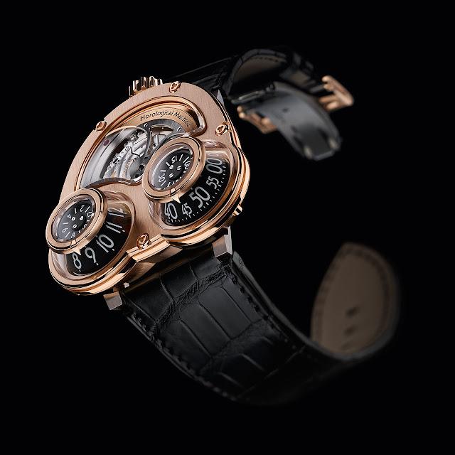 MB & F MegaWind Mechanical Watch gold