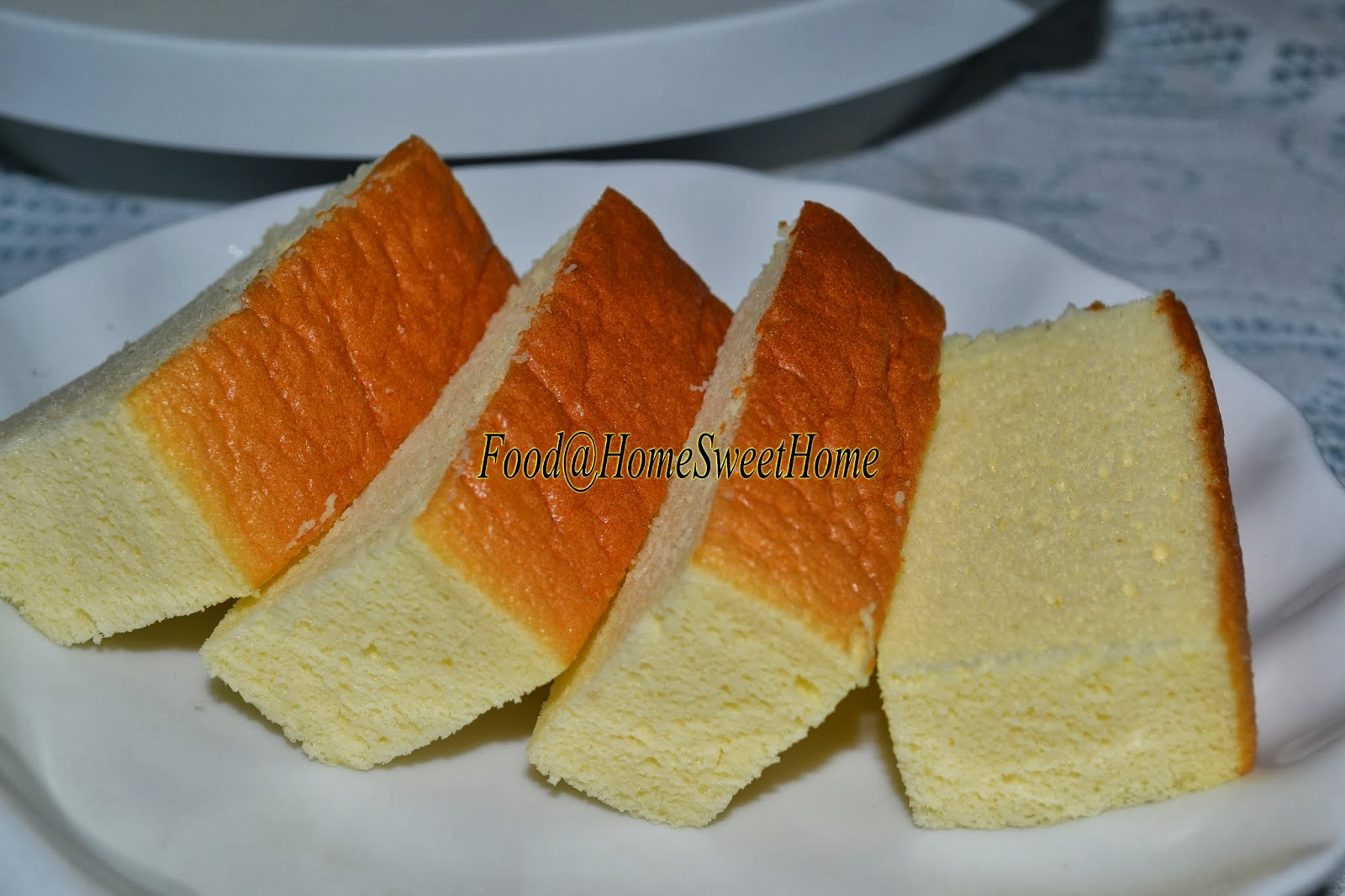 Mango Steam Cake Recipe