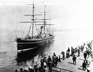 SS Abyssinia, Vancouver harbor - 1887
