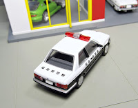bmw japanese police car tomica limited vintage