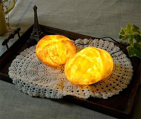 Lampu Unik Menakjubkan dari sebuah Roti [lensaglobe.com]