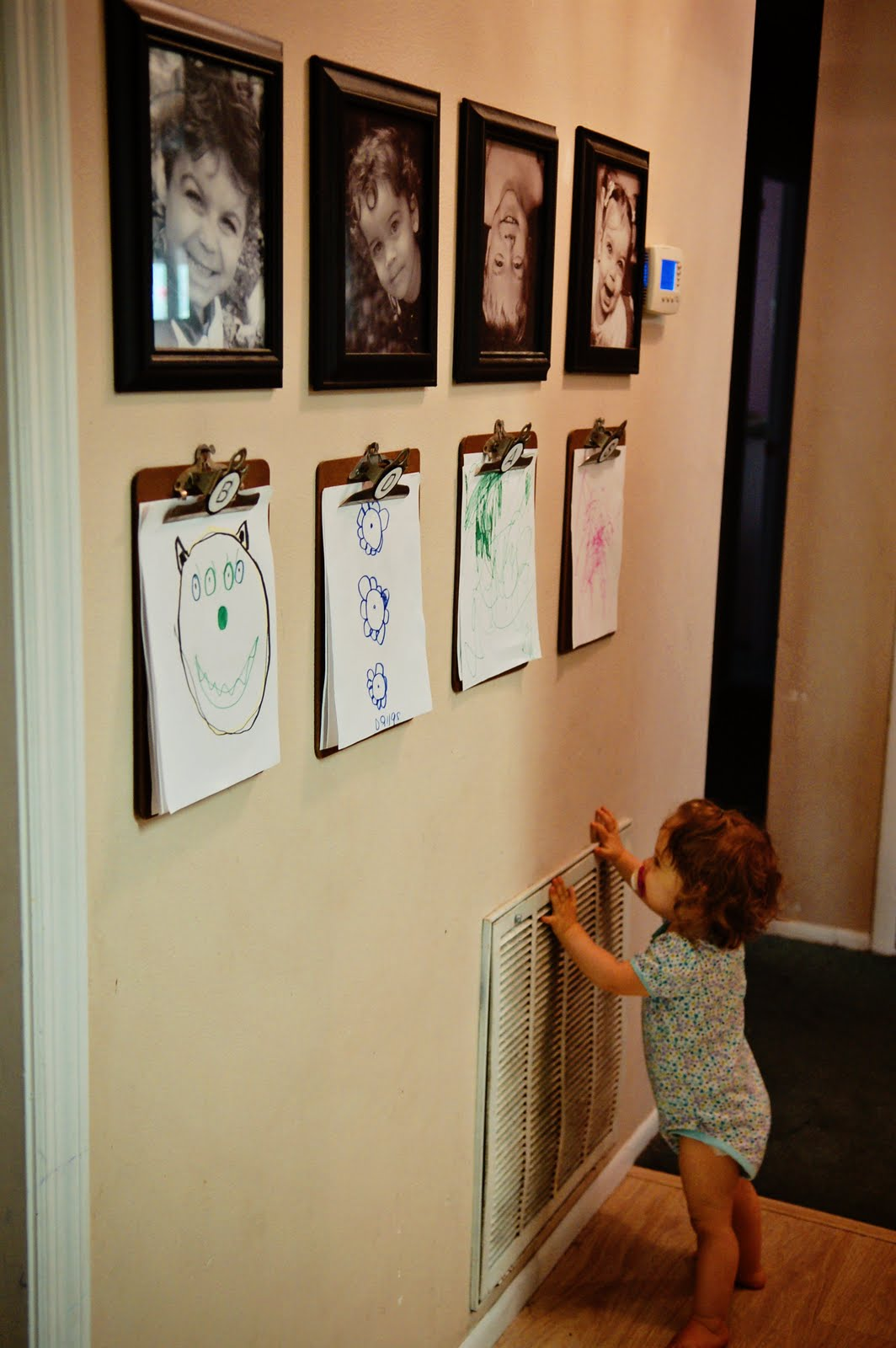 Kids art display for Cute display pictures