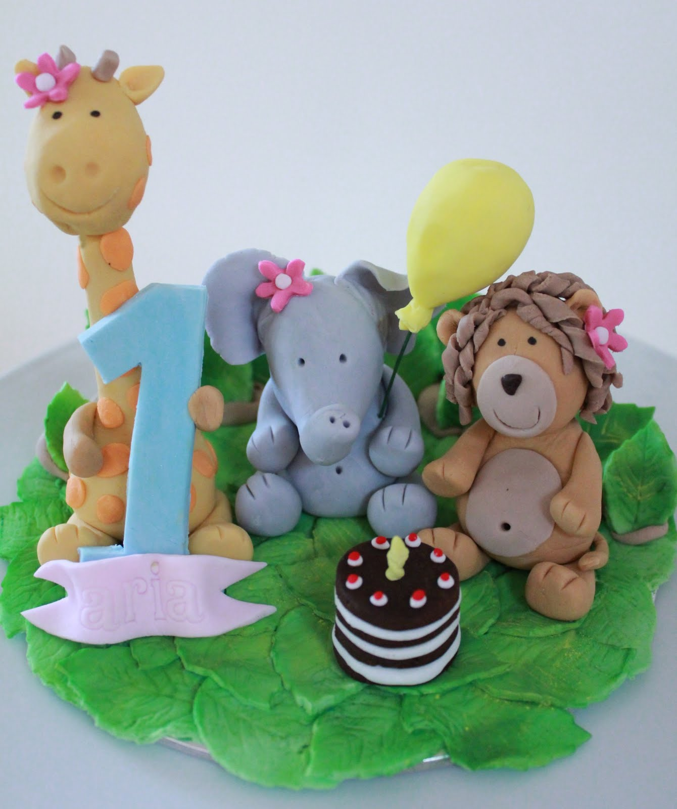 Blissfully Sweet: A Jungle Themed Cake Topper