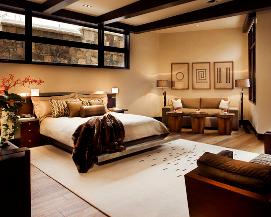 Exclusive bedroom design ideas home designs for Bedroom bedhead design
