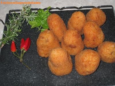 arancini alla napoletana