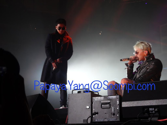 Big Bang Alive concert NJ 121109 soundcheck
