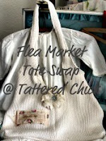 Tattered Chick Market Tote Swap