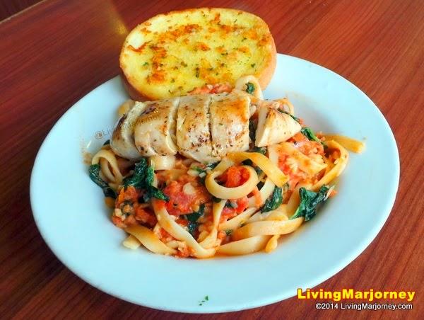 iHOP Italian Chicken Pasta
