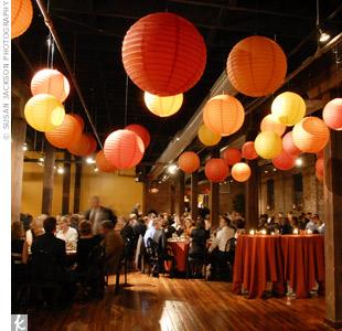 ohsohappilymarried: paper lanterns!
