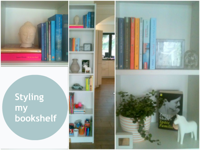 styling my bookshelf