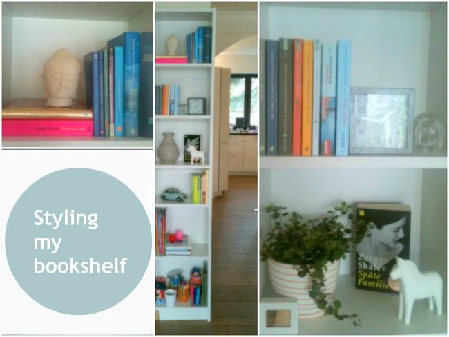 styling my bookshelf