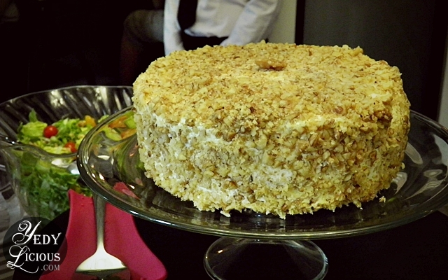 Carrot Cake at The Round Table Buffet Kapitolyo Pasig