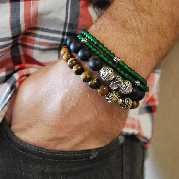 Mantomeasure How To Wear Men S Bracelets Summer Trends