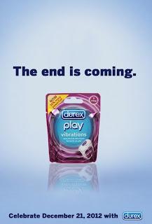 publicidad de preservativos inspirada en el fin del mundo el 21 de diciembre 2012