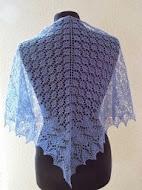 TE KOOP:Linnen sjaal, driehoek model.