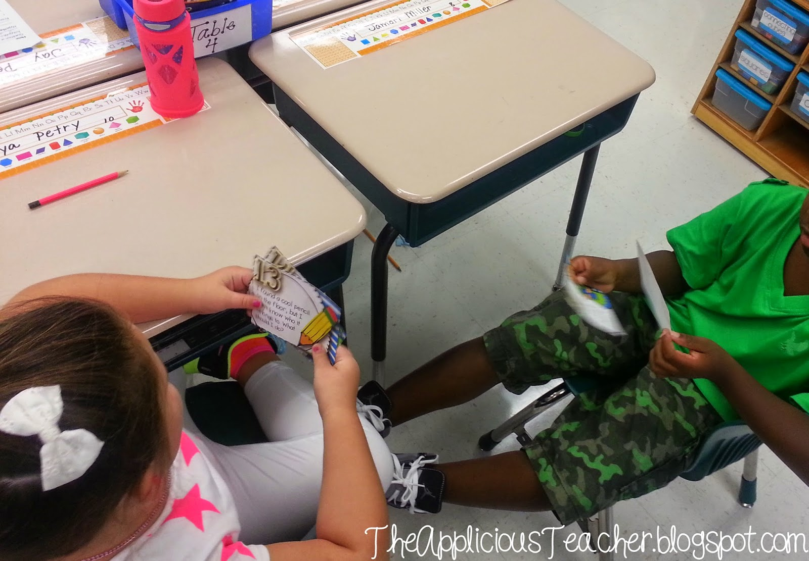 http://www.teacherspayteachers.com/Product/School-Days-10-Literacy-Centers-for-Back-to-School-and-Beyond-1341886